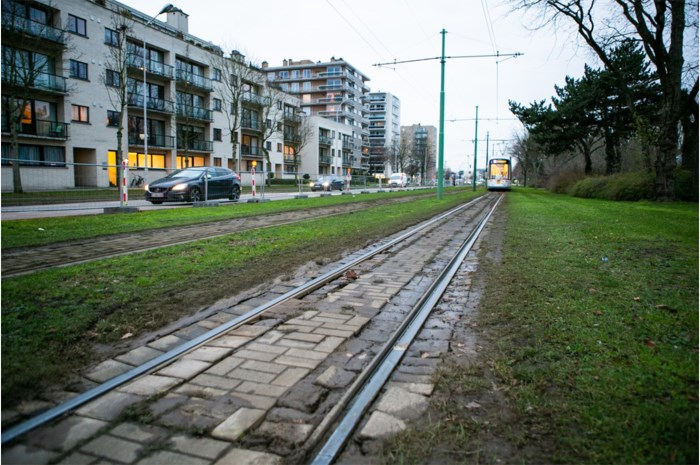 Slechte staat tramsporen